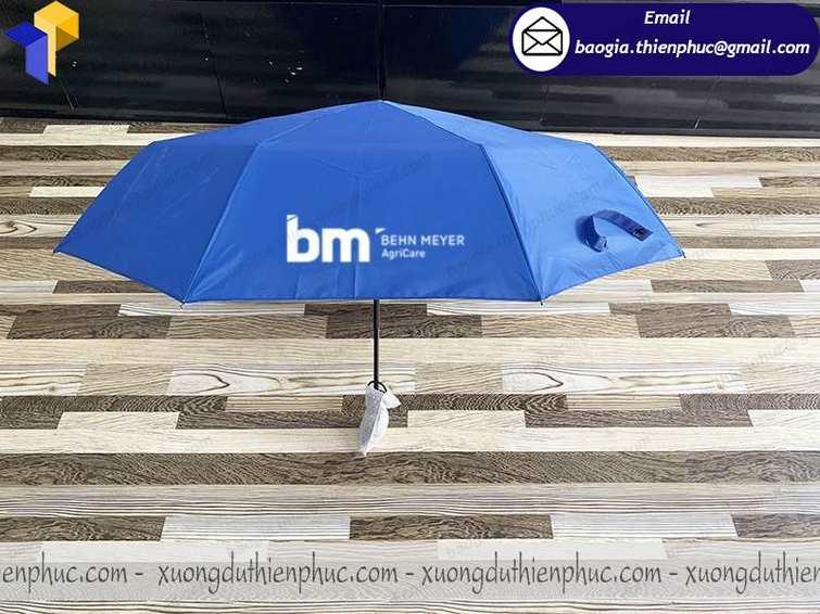 báo giá dù in logo cầm tay