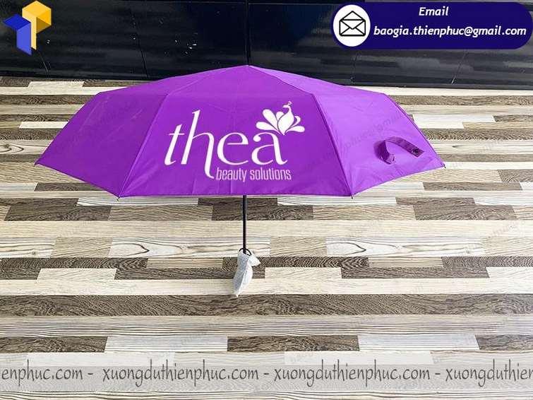 đặt làm  ô dù quà tặng giá rẻ
